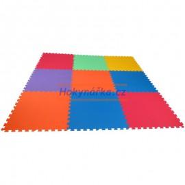 Pěnový koberec Mid-Form 9 mix 6 barev 16mm pevný