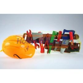 Dětský pás s nářadím a helmou 2