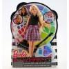 Panenka Barbie barevný účes Mattel