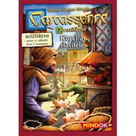Hra Carcassonne - Kupci a stavitelé, 2. rozšíření MINDOK