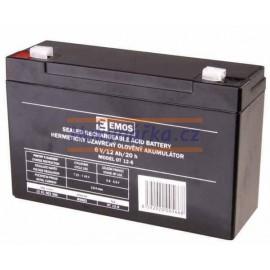 Baterie akumulátor 6V/12Ah