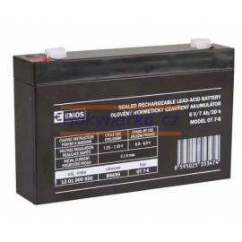 Baterie akumulátor 6V/7Ah