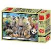 Puzzle zvířata 500 dílků 3D obraz