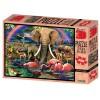 Puzzle safari 500 dílků 3D obraz