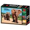 Puzzle sloni 500 dílků 3D obraz
