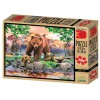 Puzzle medvědi 500 dílků 3D obraz