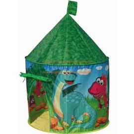 Dětský stan rotunda dino látkový