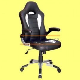 Kancelářská židle RACER houpací černá