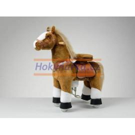 Ponnie White Hoof Horse hnědák s bílými znaky malý