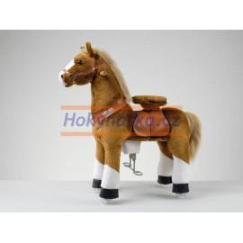 Ponnie White Hoof Horse hnědák s bílými znaky střední