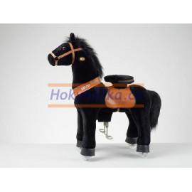 Ponnie Black Horse černý mustang střední