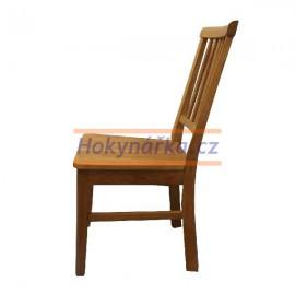 Jídelní židle C dřevěná masiv dub olej mořená