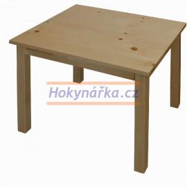 Dětský stůl dřevěný lak masiv borovice