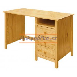 Psací stůl TORINO lak masiv borovice