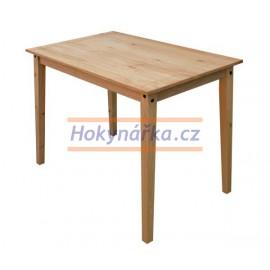 Jídelní stůl Corona vosk masiv borovice 118cm