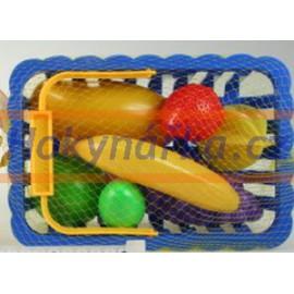 Košík potraviny ovoce a zelenina
