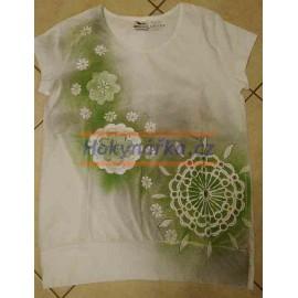 Tričko dámské L mandala 3 ručně barvené