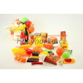 Potraviny do dětské kuchyňky jídlo síťka