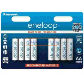 Baterie Panasonic eneloop AA 1900mAh NiMH 8ks