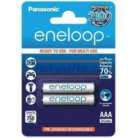 Baterie Panasonic eneloop AAA 750mAh NiMH 2ks