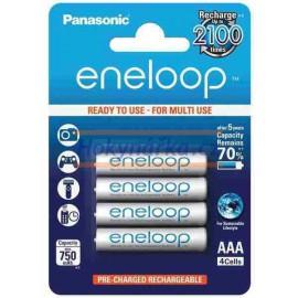 Baterie Panasonic eneloop AAA 750mAh NiMH 4ks
