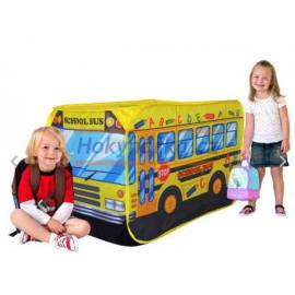 Dětský stan autobus látkový