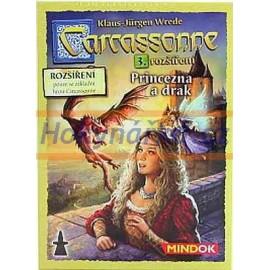 Hra Carcassonne Princezna a drak 3. rozšíření MINDOK