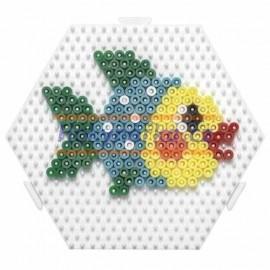 Hama podložka napojovací šestiúhelník korálky MIDI