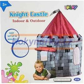 Dětský stan rytířský hrad látkový