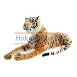 Plyšový Tygr hnědý velký 110cm