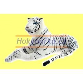 Plyšový Tygr bílý velký 110cm