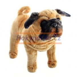 Plyšový pes mops 54cm