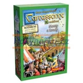 Hra Carcassonne - Mosty a hrady 8. rozšíření