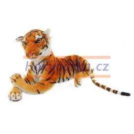 Plyšový Tygr hnědý 50cm