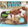 Tesání sada T-rex dinosaurus