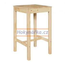 Barový stůl Torino lak masiv