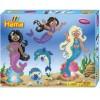 Hama sada mořské panny korálky MIDI