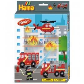 Hama sada hasiči korálky MIDI