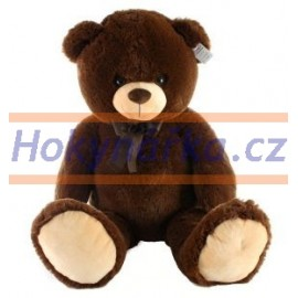 Plyšový medvěd tmavý 100cm