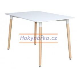 Jídelní stůl UNO 120x80 bílý