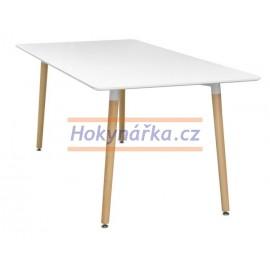Jídelní stůl UNO 160x90 bílý