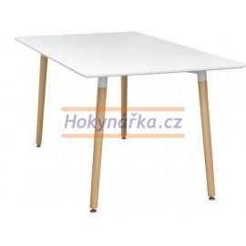 Jídelní stůl UNO 140x90 bílý