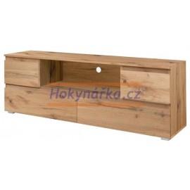 TV stolek Image lamino zlatý dub