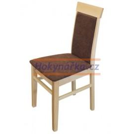 Jídelní židle Oli masiv buk lak