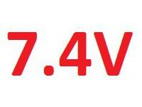 LiPo 7.4V akumulátor Absima
