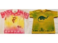 Dětská originální ručně malovaná trička