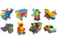 3D pěnové puzzle